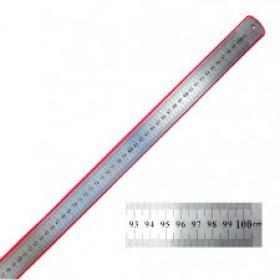 ЛИНЕЙКА металлическая 1м 0,7S 1018-100