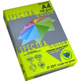 БУМАГА А4/75 SPECTRA неон Green321 500л