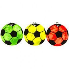"Брелок-фликер ""Футбольний мяч"" светоотражающий"