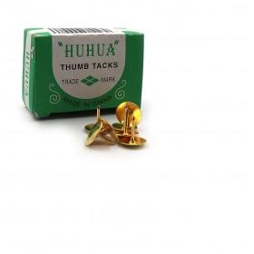 КНОПКА-ГВОЗДЬ золото, 50шт к/к 2220G
