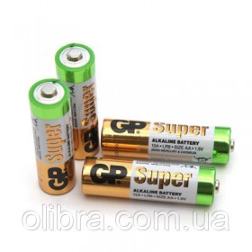 БАТАРЕЙКИ  GP SUPER  Alkaline LR06
