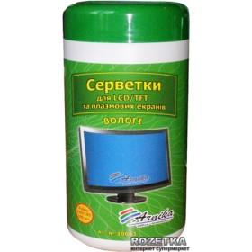 САЛФЕТКИ для LCD/TFT і плазмових моніторів 100шт. 30661